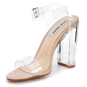 2e5f97cc0dc Steve Madden Shoes - Steve Madden Camille Lucite Clear Sandals